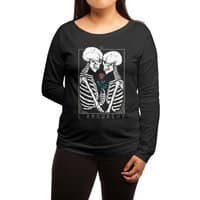 VI The Lovers - womens-long-sleeve-terry-scoop - small view