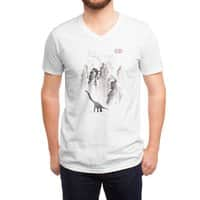 Dinosaur dynasty - vneck - small view