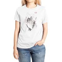 Dinosaur dynasty - womens-extra-soft-tee - small view