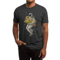 Space swimming - mens-triblend-tee - small view