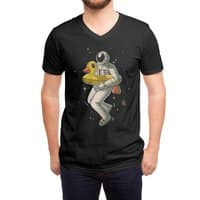 Space swimming - vneck - small view