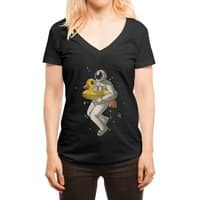 Space swimming - womens-deep-v-neck - small view