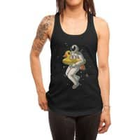 Space swimming - womens-racerback-tank - small view