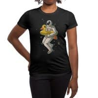 Space swimming - womens-regular-tee - small view