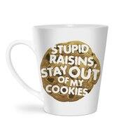 Stupid raisins, stay out of my cookies - latte-mug - small view