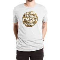 Stupid raisins, stay out of my cookies - mens-extra-soft-tee - small view