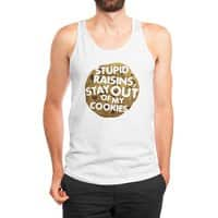Stupid raisins, stay out of my cookies - mens-jersey-tank - small view