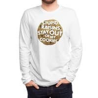 Stupid raisins, stay out of my cookies - mens-long-sleeve-tee - small view
