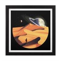 The Wanderer - black-square-framed-print - small view