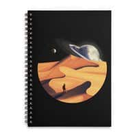 The Wanderer - spiral-notebook - small view