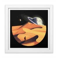 The Wanderer - white-square-framed-print - small view
