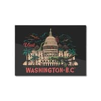 Washington B.C. - horizontal-mounted-aluminum-print - small view