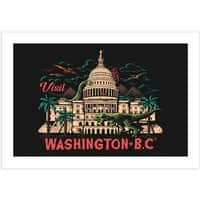 Washington B.C. - horizontal-print - small view