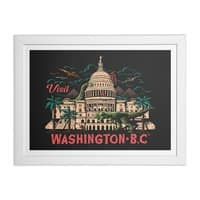 Washington B.C. - white-horizontal-framed-print - small view