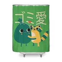Trash Love - shower-curtain - small view