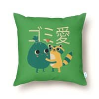 Trash Love - throw-pillow - small view