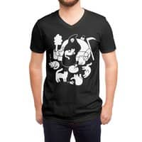 9 Lives - vneck - small view