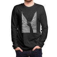 Through window - mens-long-sleeve-tee - small view