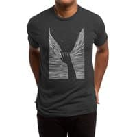 Through window - mens-triblend-tee - small view
