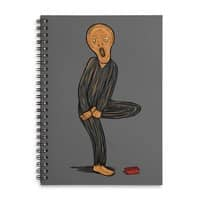 The Scream Of Pain! - spiral-notebook - small view