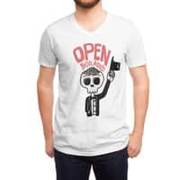 Open Your Mind - vneck - small view