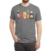 Ex-Condiments - mens-triblend-tee - small view