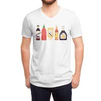 Ex-Condiments - vneck - small view