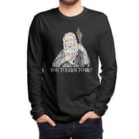 Gandalf the Gangsta - mens-long-sleeve-tee - small view