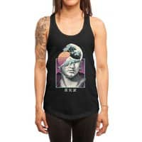 Great Vaporwave - womens-racerback-tank - small view