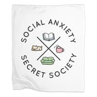 Social Anxiety Secret Society - blanket - small view