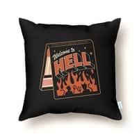 Match Made in Hell - throw-pillow - small view