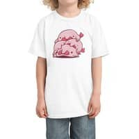 Blobfish Cuddle Party - kids-tee - small view