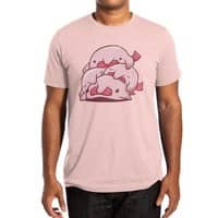Blobfish Cuddle Party - mens-extra-soft-tee - small view