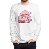 Blobfish Cuddle Party - mens-long-sleeve-tee - small view