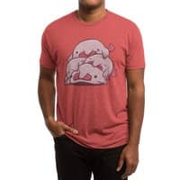 Blobfish Cuddle Party - mens-triblend-tee - small view
