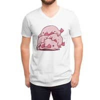 Blobfish Cuddle Party - vneck - small view