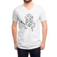 Hangry Monster - vneck - small view
