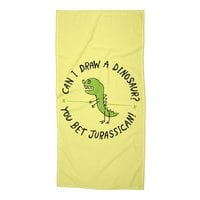Jurassican! - beach-towel - small view
