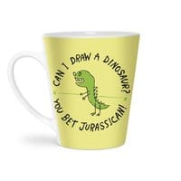 Jurassican! - latte-mug - small view
