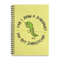 Jurassican! - spiral-notebook - small view