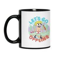 Let's Go Offline - black-mug - small view