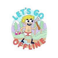 Let's Go Offline - small view