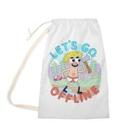 Let's Go Offline - laundry-bag - small view