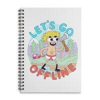 Let's Go Offline - spiral-notebook - small view