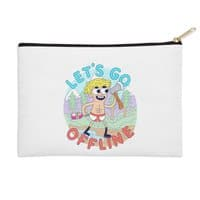 Let's Go Offline - zip-pouch - small view