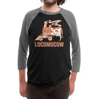 LOCOMOCOW - triblend-34-sleeve-raglan-tee - small view