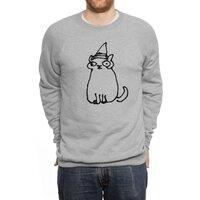 Wizard Cat - crew-sweatshirt - small view
