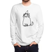 Wizard Cat - mens-long-sleeve-tee - small view