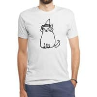 Wizard Cat - mens-triblend-tee - small view