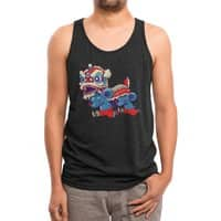 Double rat - mens-triblend-tank - small view